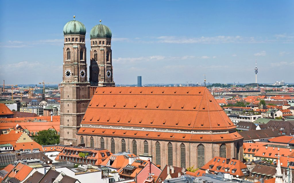 Frauenkirche Munich - View from Peterskirche Tower