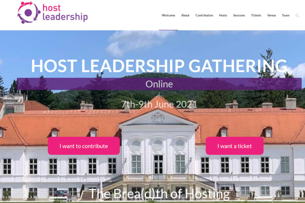 Host Leadership Gathering 2021 Online