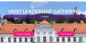 Host Leadership Gathering 2021 Online